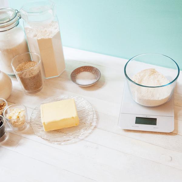 Cookie Dough Rezept: Übersicht der Zutaten