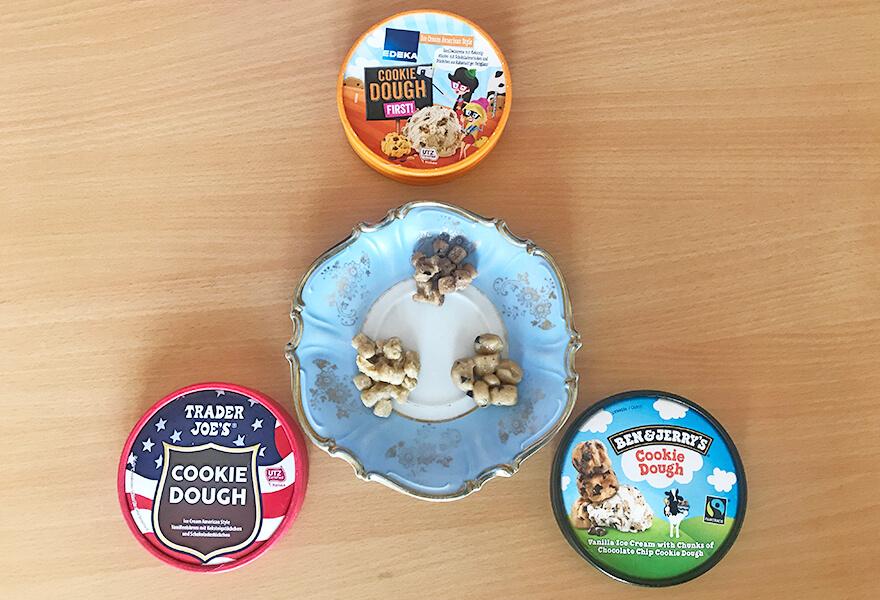 Cookie Dough Stückchen ohne Eis