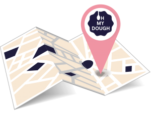 OH MY DOUGH Shop finder Symbol