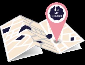 OH MY DOUGH Shop finder Symbol